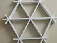 三角格栅特性